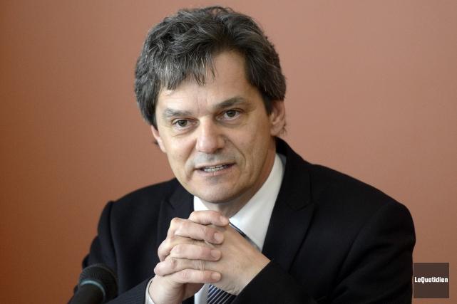 Le recteur de l'Université du Québec à Chicoutimi,... ((Photo Le Quotidien, Jeannot Lévesque))