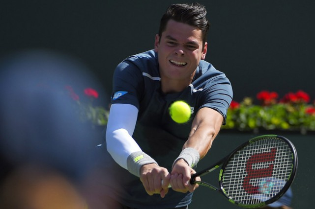 Milos Raonic... (Photo: AP)