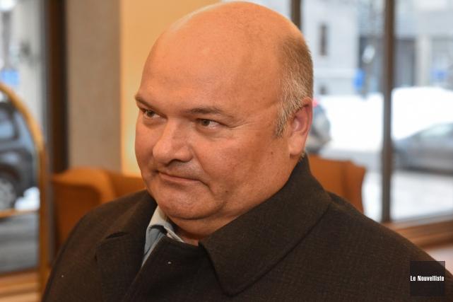 Le député de Saint-Maurice Pierre Giguère... (Photo: François Gervais Le Nouvelliste)