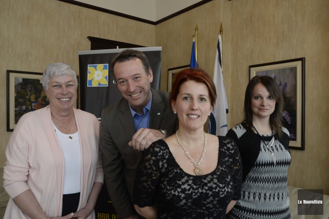 Lucie De Bons, conseillère municipale à la Ville... (Photo: Sylvain Mayer Le Nouvelliste)