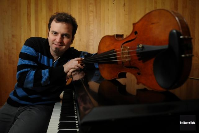 Membre de l'ensemble Quartango depuis six ans, le... (Photo: François Gervais Le Nouvelliste)