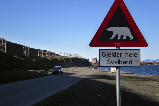 L'archipel norvégien du Svalbard (photo) va voir sa... (PHOTO ARCHIVES AFP)