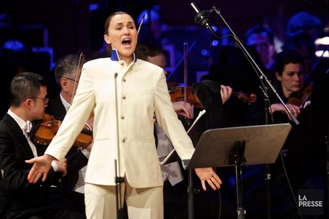 Dans le rôle-titre, la soprano belge Anne-Catherine Gillet,... (Photo: André Pichette, La Presse)