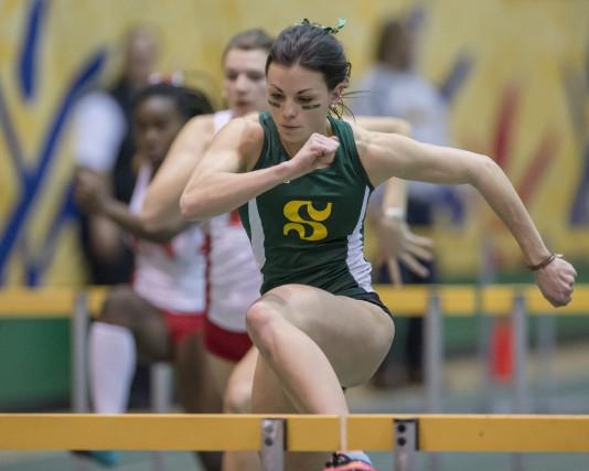 De retour du Championnat d'athlétisme du Sport interuniversitaire canadien avec... (Courtoisie Yves Longpré)