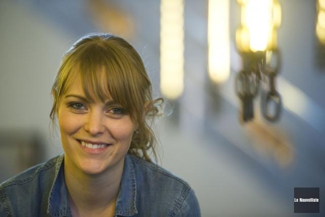 Andréanne A. Malette sera en spectacle à la... (Photo: Stéphane Lessard Le Nouvelliste)