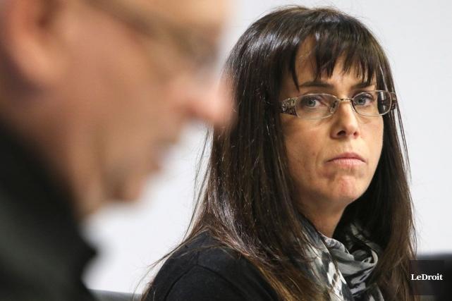 Isabel Côté, présidente du conseil d'administration du centre,... (Archives, LeDroit)