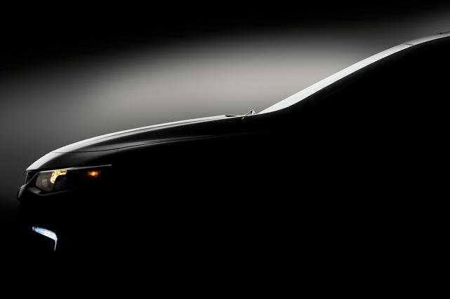 Première image de la Chevrolet Malibu 2016 qui... (Photo fournie par GM)