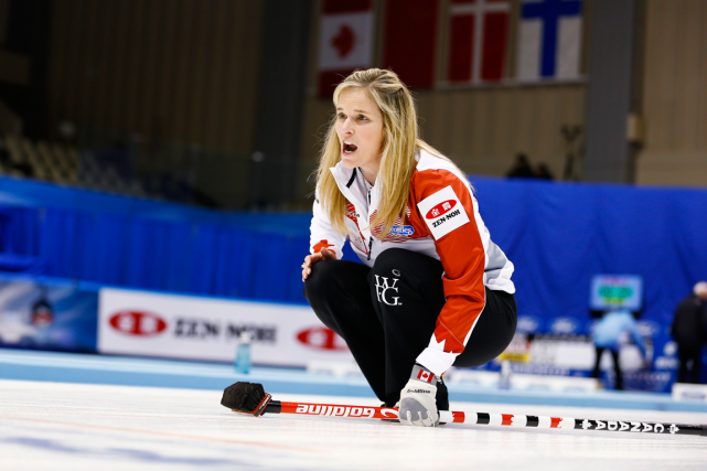 La skip de l'équipe canadienne féminine de curling,... (Photo Thomas Peter, Reuters)