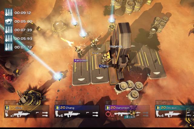 Le jeu se déroule en vue du dessus... (Photo fournie par le fabricant)