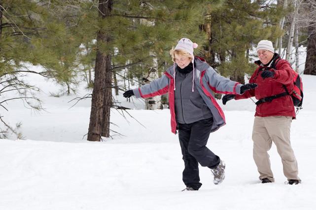 Selon l'étude,les gens qui marchent modérément ou souvent... (Photo Thinkstock)