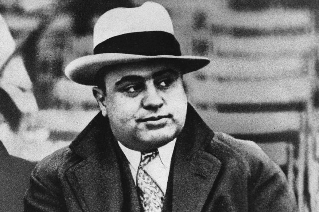 Al Capone en 1931.... (Photo: archives AP)