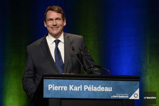 Les propos de Pierre Karl Péladeau sur l'immigration ne sont pas nouveaux.... (Photo Sylvain Mayer, Archives Le Nouvelliste)