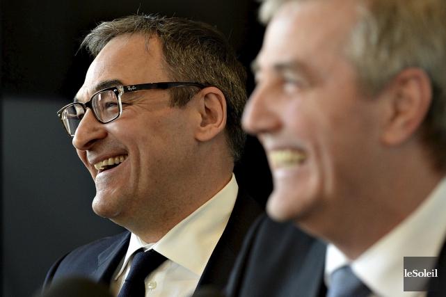 L'ex-politicien libéral Martin Cauchon a annoncé mercredi matin... (Le Soleil, Patrice Laroche)