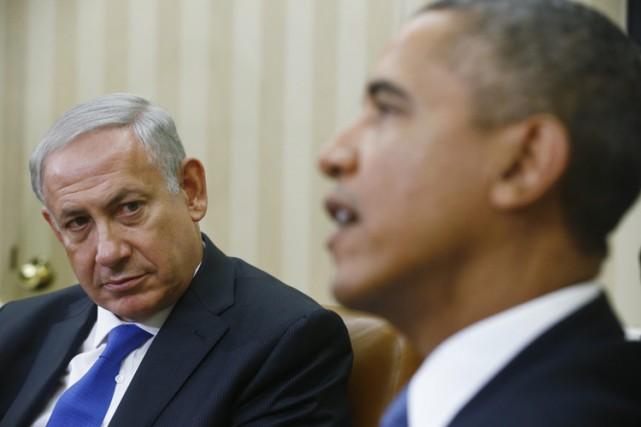 Barack Obama n'a pas appelé Benyamin Nétanyahou pour... (Archives AP)