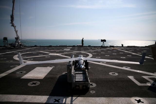 Les États-Unis utilisent eux-mêmes beaucoup les drones en... (Archives AFP)