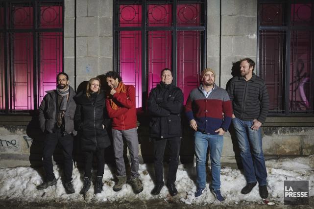 Le groupe Ayrad... (Photo: Ulysse Lemerise, collaboration spéciale La Presse)