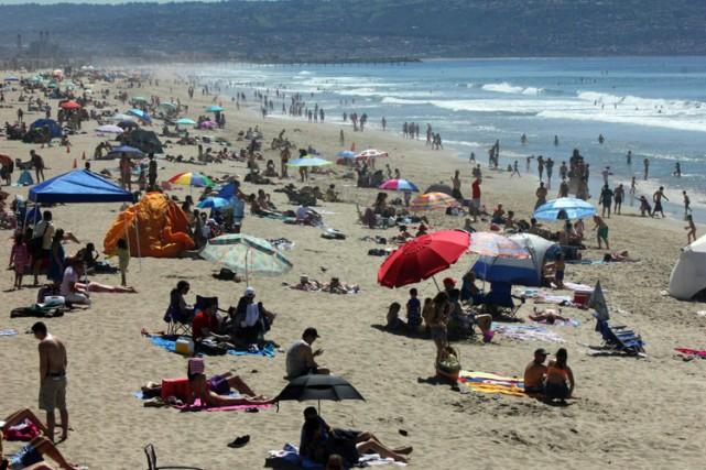 En février 2015, la température moyenne sur les... (Photo: AP)