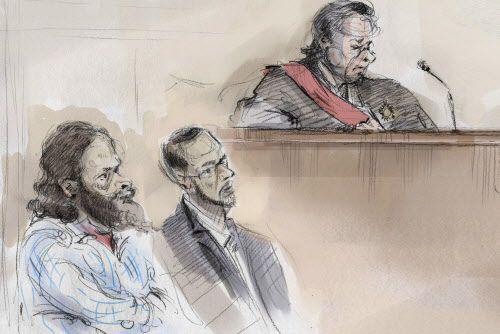 Chiheb Esseghaier et Raed Jaser avaient été arrêtés... (Photo Alexandra Newbould, La Presse canadienne)