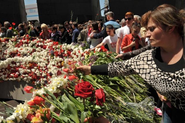 Vingt-et-un pays reconnaissent le génocide, selon l'Institut national... (Photo: AFP)