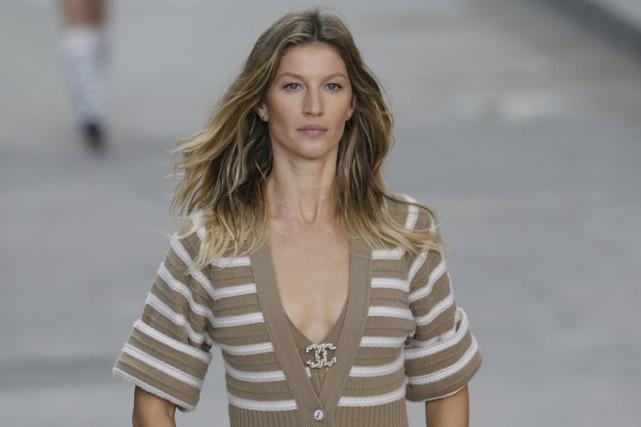 Gisèle Bundchen a notamment été l'égérie de Chanel... (Photo: AFP)