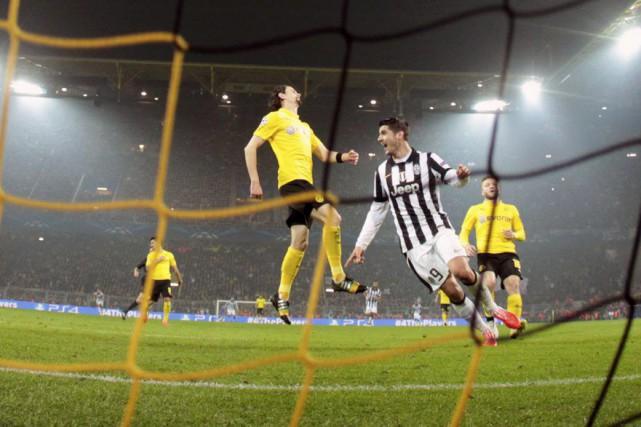 La Juventus Turin, beaucoup trop forte pour un Borussia Dortmund tout juste... (Photo: Reuters)
