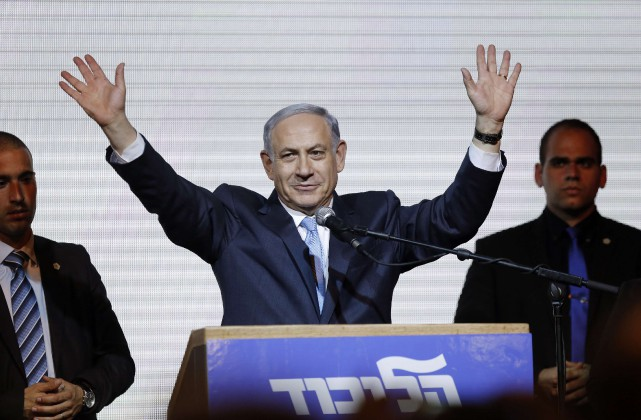«Benyamin Nétanyahou peut savourer sa victoire, mais elle... (Photo Amir Cohen, Reuters)