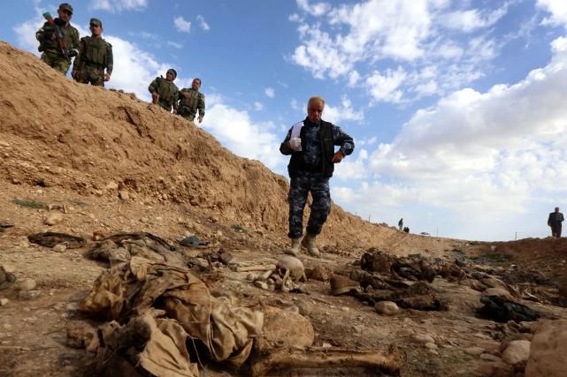 Toutes les exactions répertoriées dans le rapport pourraient... (PHOTO SAFIN HAMED, AFP)