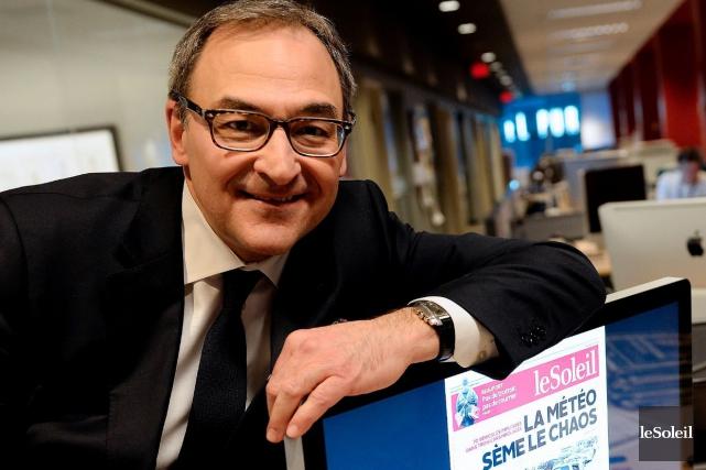 Martin Cauchon, nouveau propriétaire duSoleilet des cinq autres... (Le Soleil, Erick Labbé)
