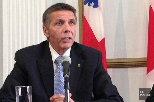 Le président du comité exécutif de Montréal, Pierre... (PHOTO PATRICK SANFAÇON, ARCHIVES LA PRESSE)