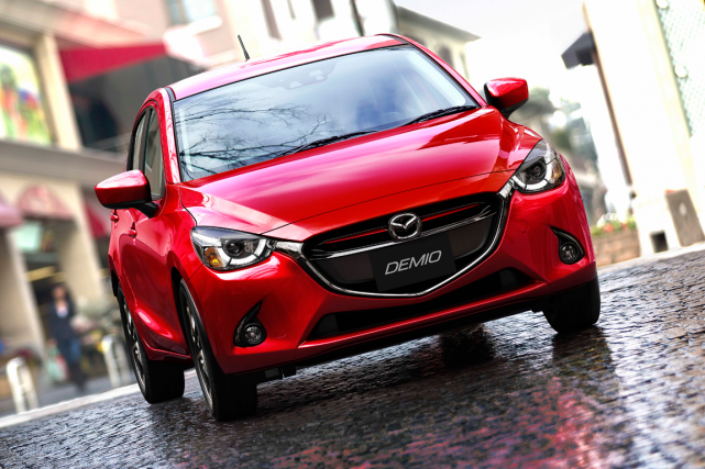 La Mazda2... (Photo fournie par Mazda)
