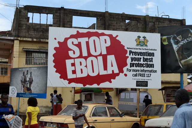 Une pancarte tente de sensibiliser la population de... (PHOTO FRANCISCO LEONG, ARCHIVES AFP)