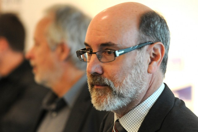 Robert Aubin, député du Nouveau Parti démocratique de... (Photo: François Gervais, Le Nouvelliste)