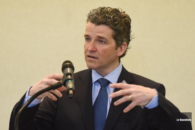 Luc Ménard, vice-président principal, Investissement chez Desjardins Capital... (Photo: François Gervais, Le Nouvelliste)
