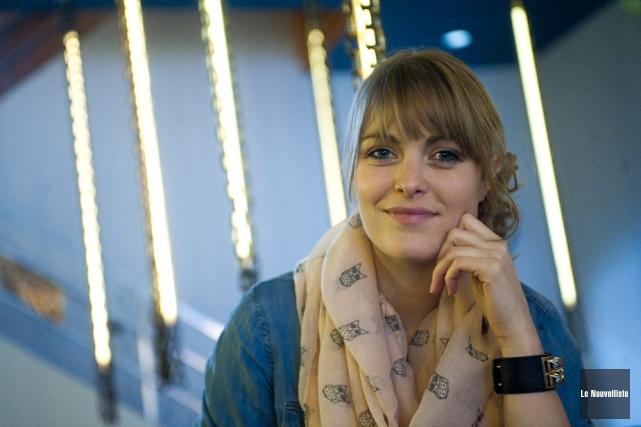 Andréanne A. Malette présentera son spectacle Bohèmes samedi... (Photo: Stéphane Lessard, Le Nouvelliste)