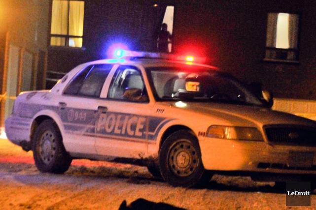 L'Unité des armes à feu et des bandes de rues du Service de police d'Ottawa a... (Archives, LeDroit)