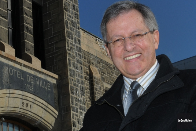 Le maire de Saguenay, Jean Tremblay.... (PHOTO MICHEL TREMBLAY, archives Le QUOTIDIEN)
