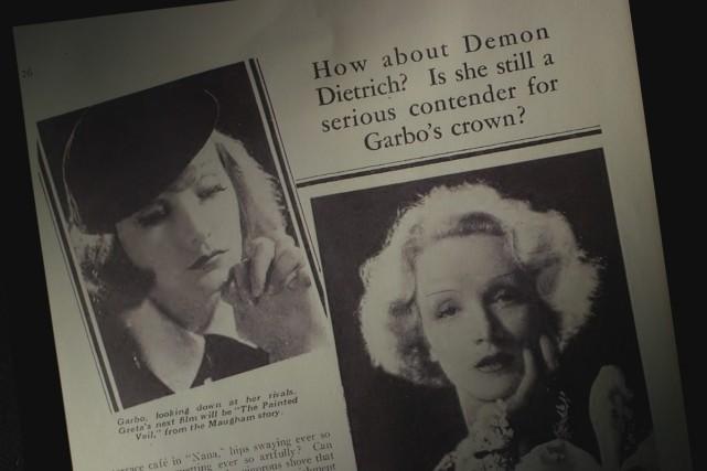 Dietrich-Garbo: l'ange et la divine... (Photo: fournie par le FIFA)