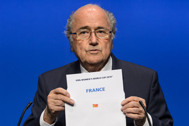 Le président de la FIFA, Sepp Blatter.... (Photo Fabrice Coffrini, AFP)