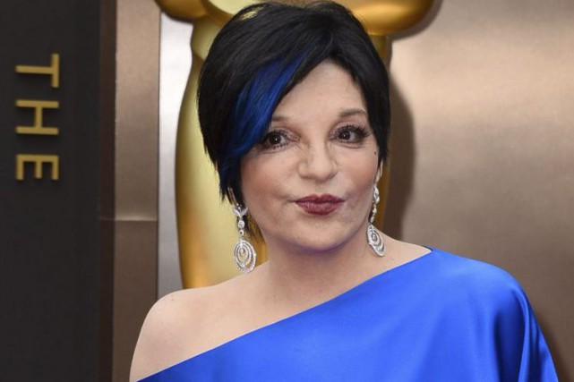 Liza Minnelli aux Oscars en 2014.... (Photo: archives AP)