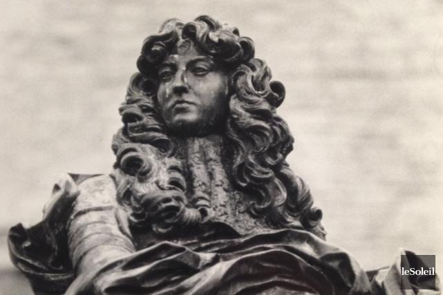 Le roi Louis XIV... (Archives Le Soleil)