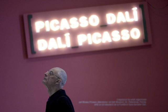 Pablo Picasso et Salvadro Dali dialogueront à partir de vendredi à Barcelone, à... (Photo: AFP)