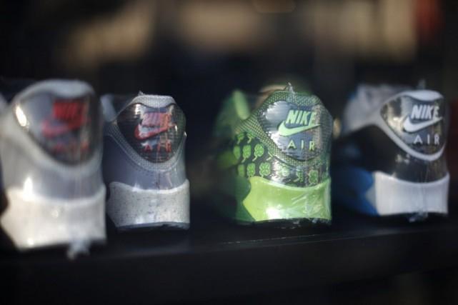 Les responsables de Nike ont également indiqué que... (PHOTO LUCY NICHOLSON, REUTERS)