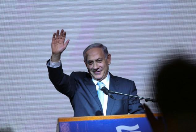 Le premier ministre israélien, Benjamin Netanyahu.... (Photo Oded Balilty, AP)