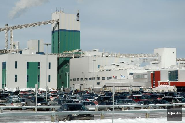 L'usine Alma de Rio Tinto Alcan.... ((Archives Le Quotidien))