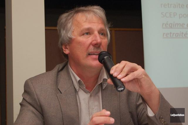 Le directeur adjoint du syndicat Unifor, Renaud Gagné.... ((Archives Le Quotidien))