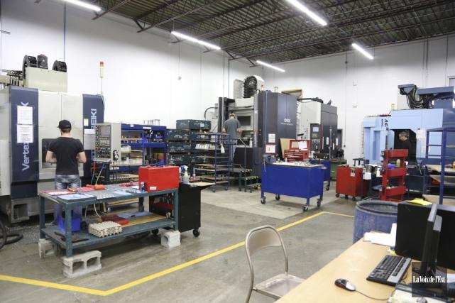 NSE Automatech a réalisé un investissement de 4... (photo archives La Voix de l'Est)