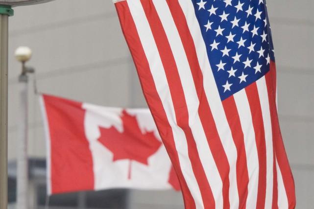Les autorités canadiennes et américaines refusent de confirmer si un jeune... (Photo La Presse Canadienne)