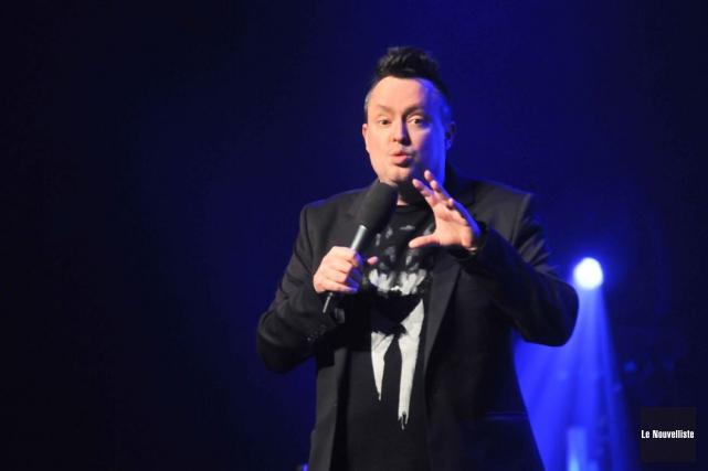 Mike Ward a présenté son spectacle Chien jeudi... (Photo: Émilie O'Connor, Le Nouvelliste)