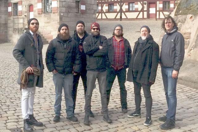 La formation Bodh'aktan offre un amalgame de punk... (Archives)