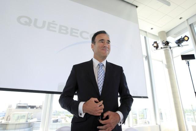 Pierre Dion, grand patron de Québecor,a été rémunéré... (PHOTO ARCHIVES REUTERS)